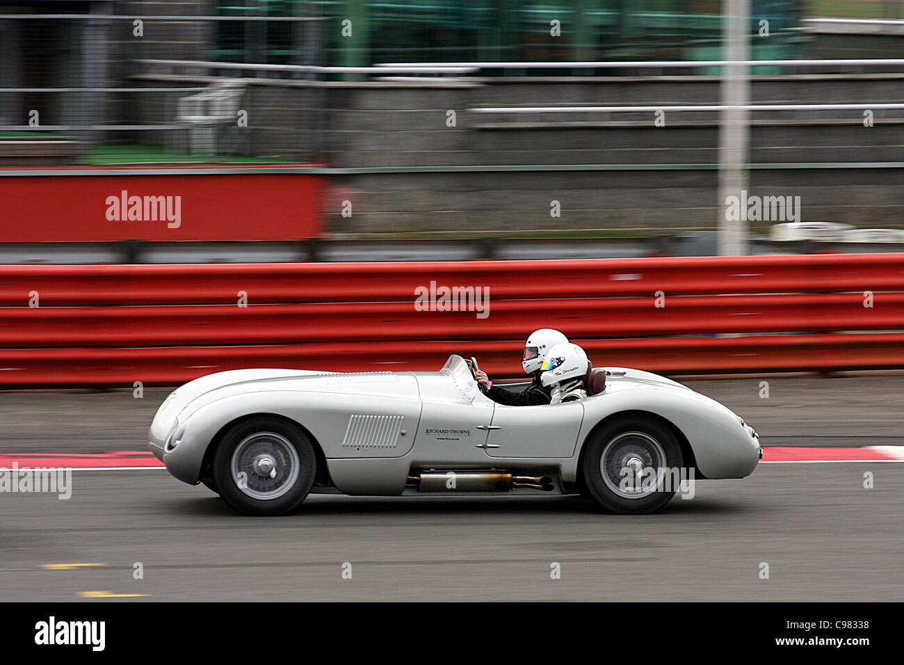 2011 Proteus C-Type on the track at Silverstone - Stock Image