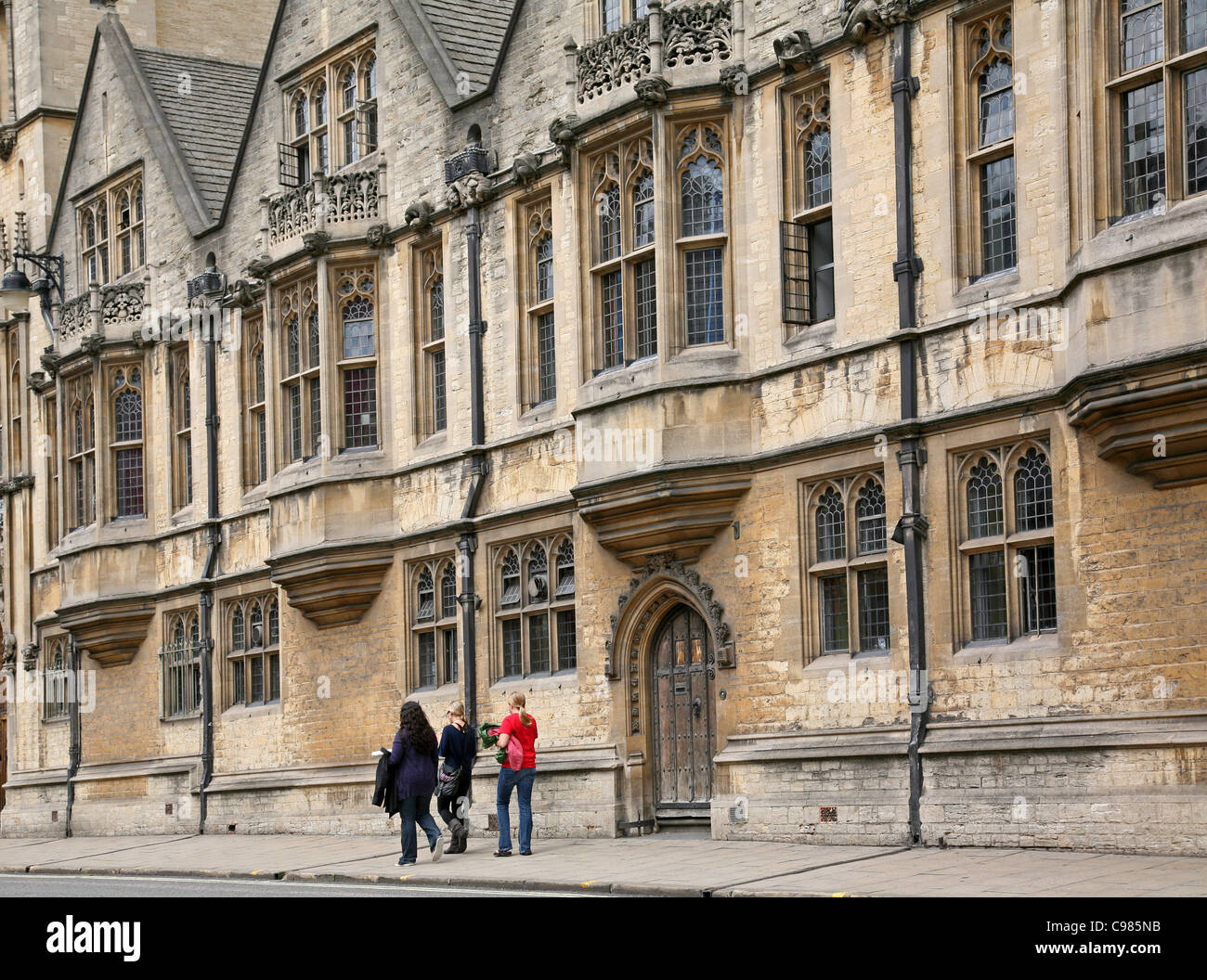 Oxford University, Brasenose College - Stock Image