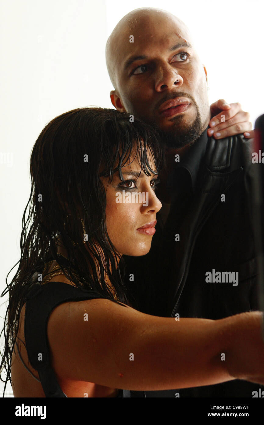 Smokin' Aces Year : 2006 UK / USA Alicia Keyes, Common  Director: Joe Carnahan - Stock Image