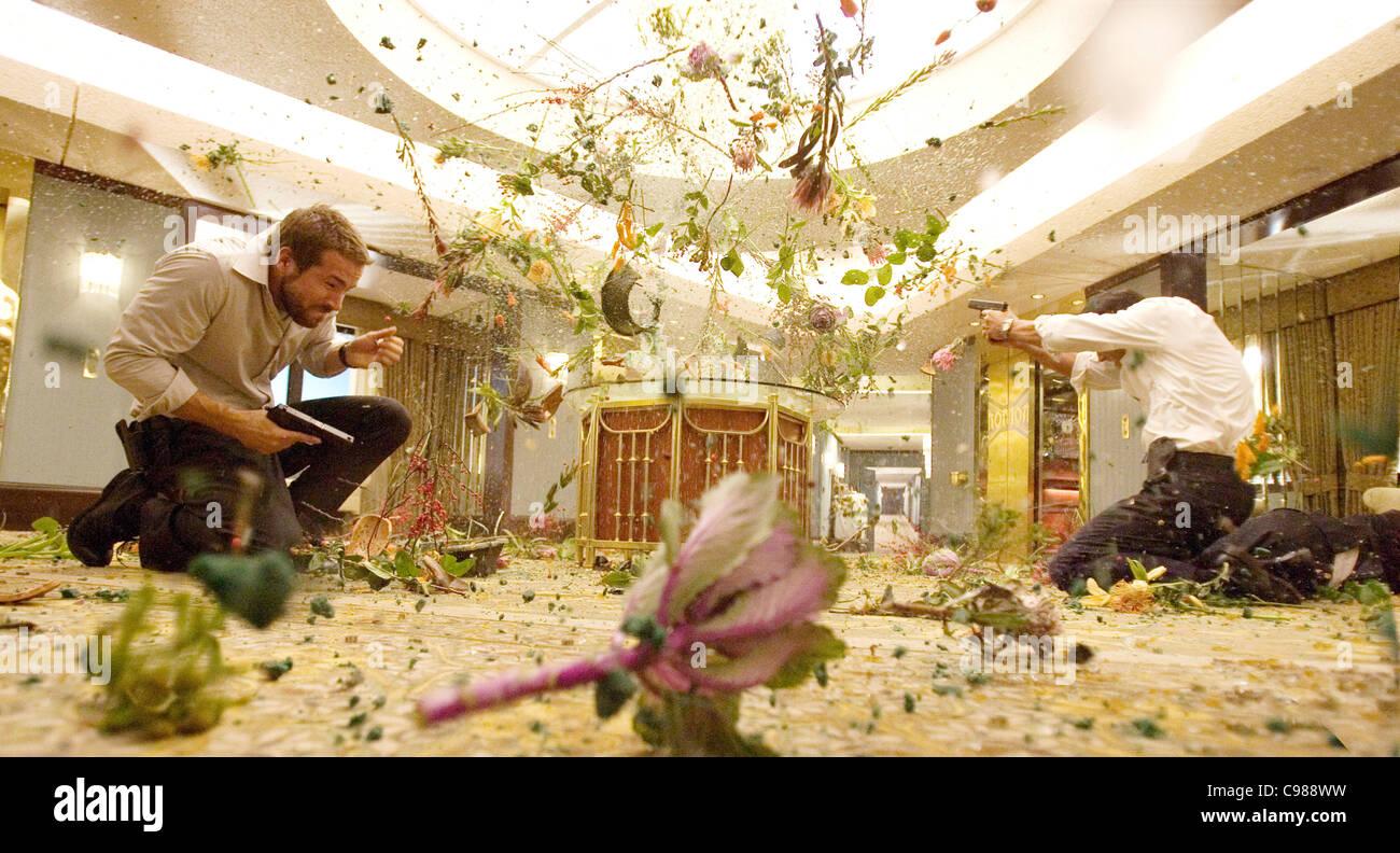 Smokin' Aces Year : 2006 UK / USA Ryan Reynolds  Director: Joe Carnahan - Stock Image