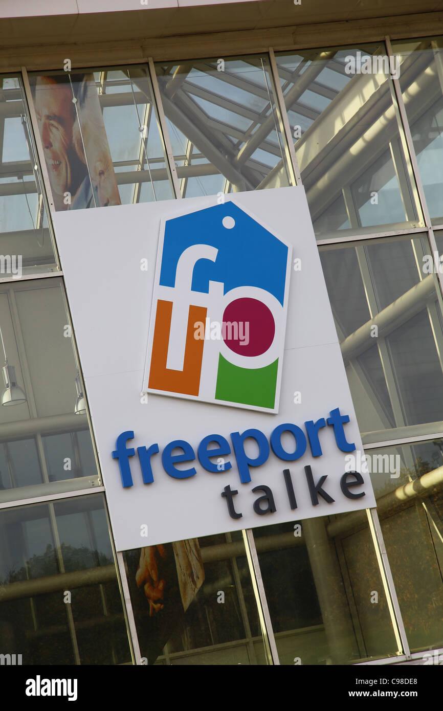 Freeport Talke Outlet Shopping Centre, Stoke-on-Trent, Staffs, England - Stock Image