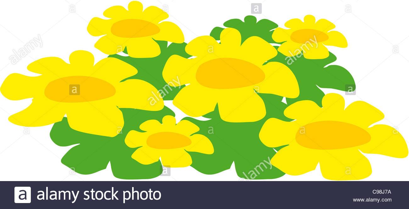 Flower Meadow Symbol Logo Optional Icon Image Symbols Symbols Stock