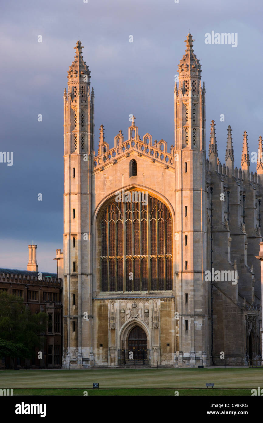 Kings College, Cambridge, Cambridgeshire, UK - Stock Image