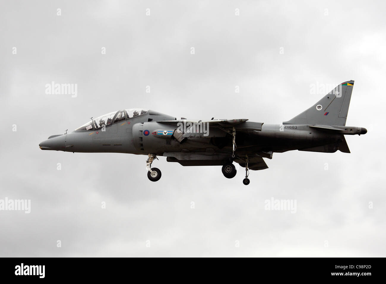 ZH663 British Aerospace Harrier T12 - Stock Image