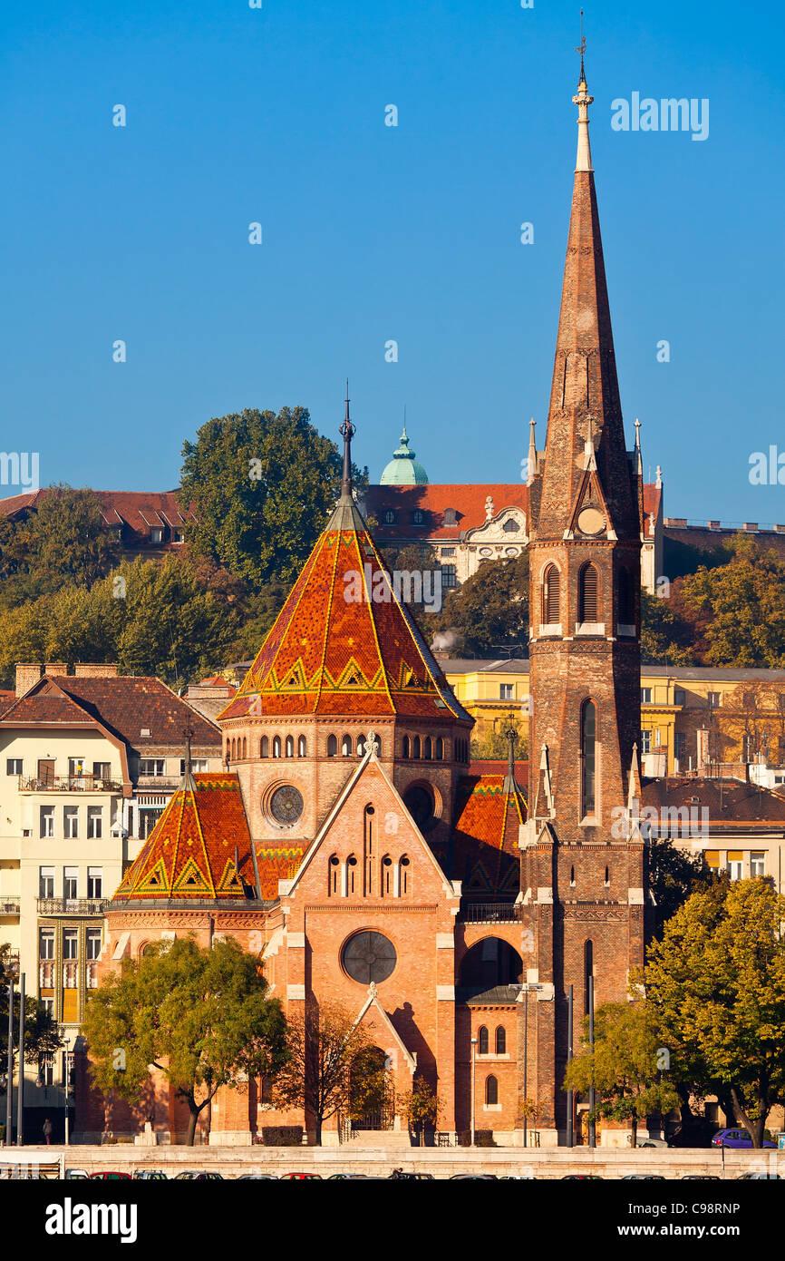 Budapest, Calvinist church - Stock Image