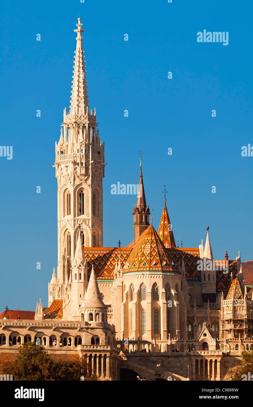 Budapest, Matthias Church - Stock Image