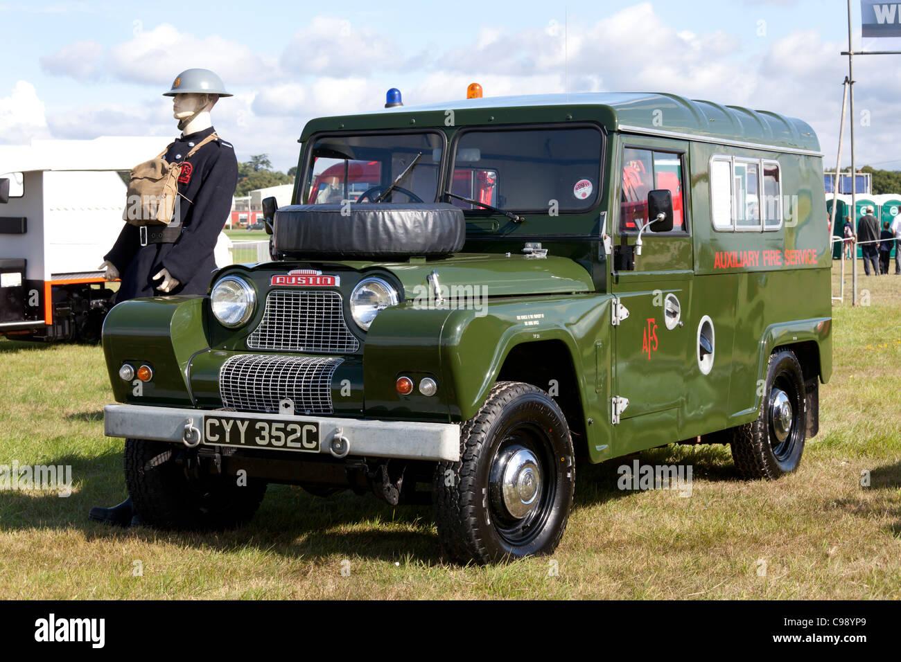 Austin Gypsy on display at Dunsfold Wings and Wheels 2011, Surrey, UK - Stock Image