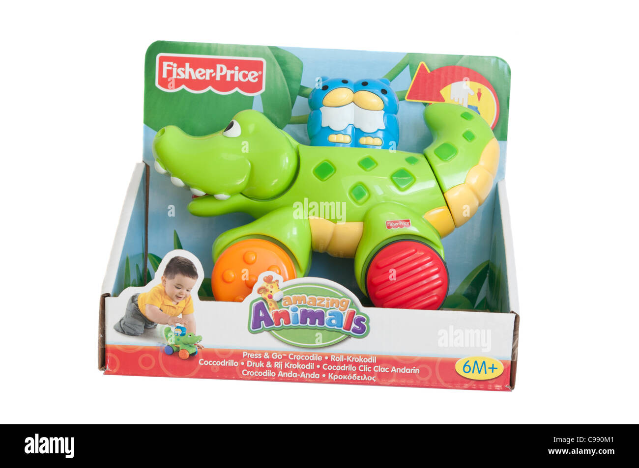 Childrens childs Fisher Price Plastic Toy Toys - Stock Image