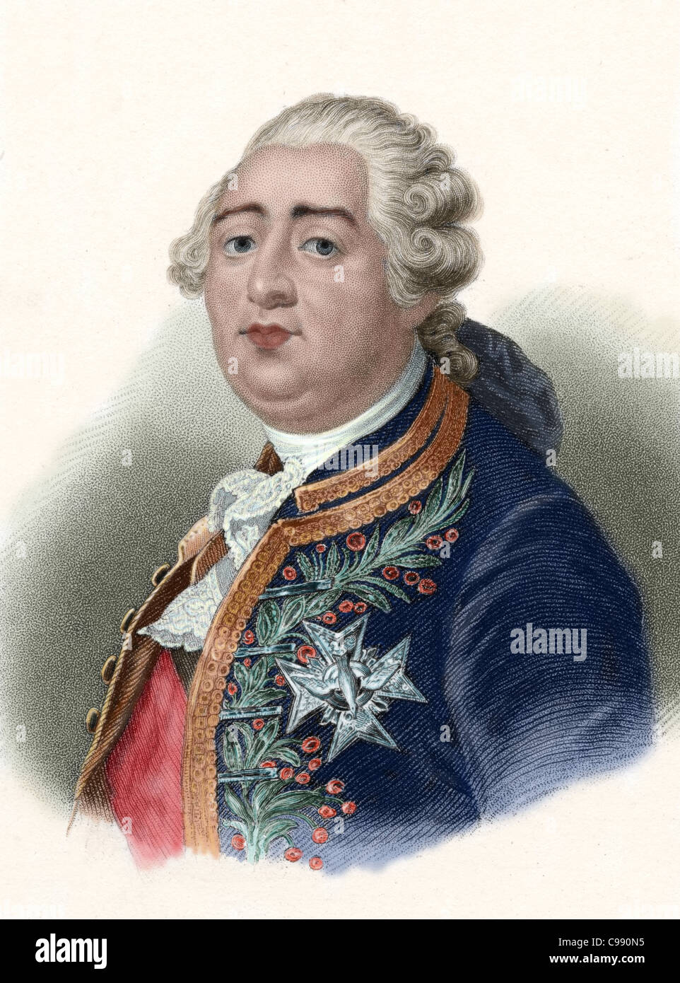 louis xvi with france