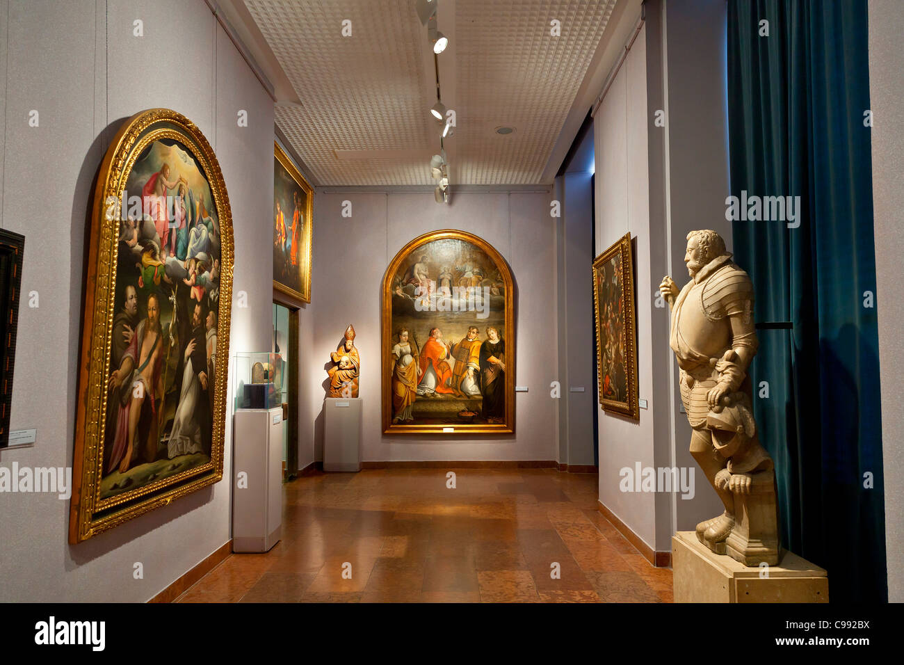 Budapest, Hungarian National Gallery Stock Photo