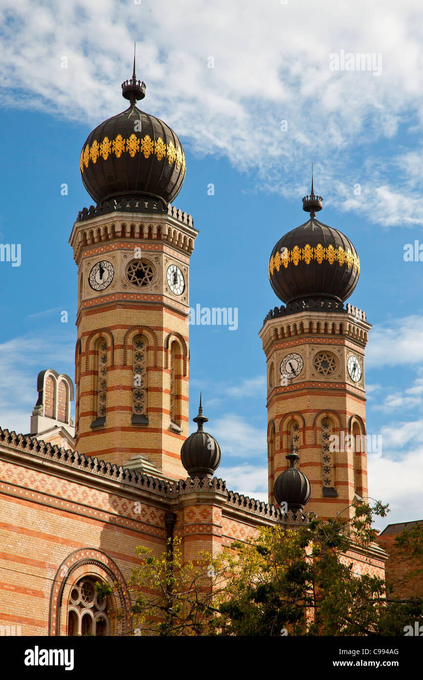 Budapest, Great Synagogue - Stock Image