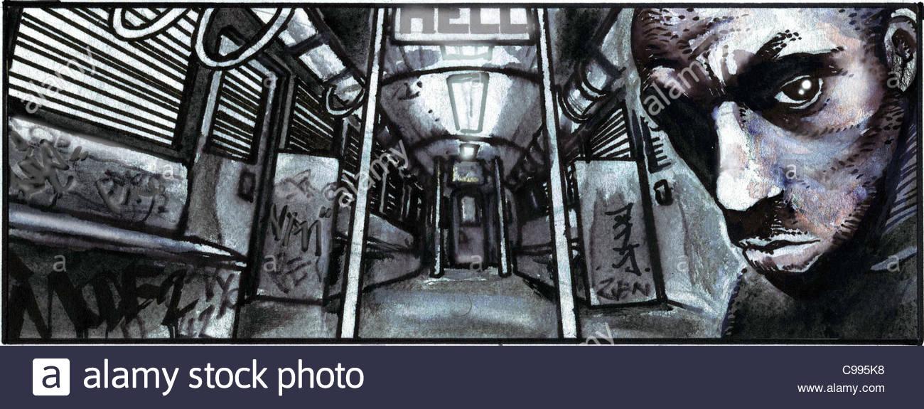 Tricky London - Stock Image
