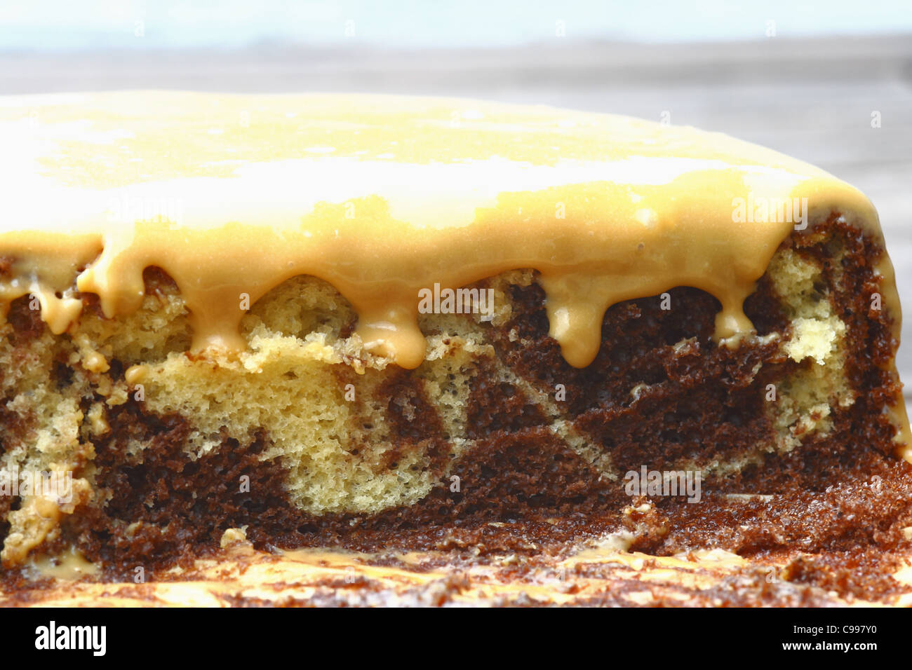 homemade cake - Stock Image
