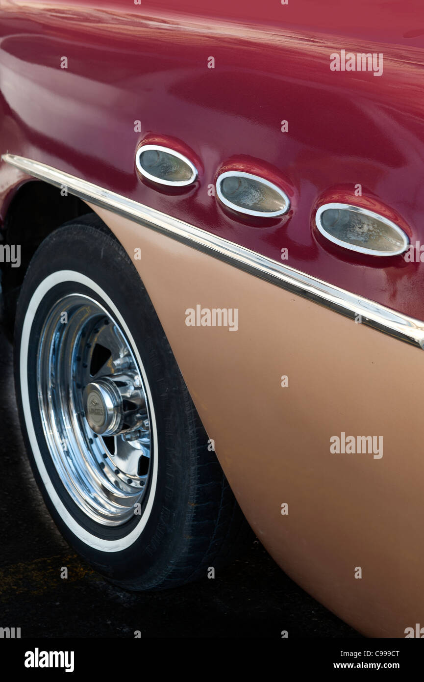 Classical American Buick 1956 Havana Cuba - Stock Image