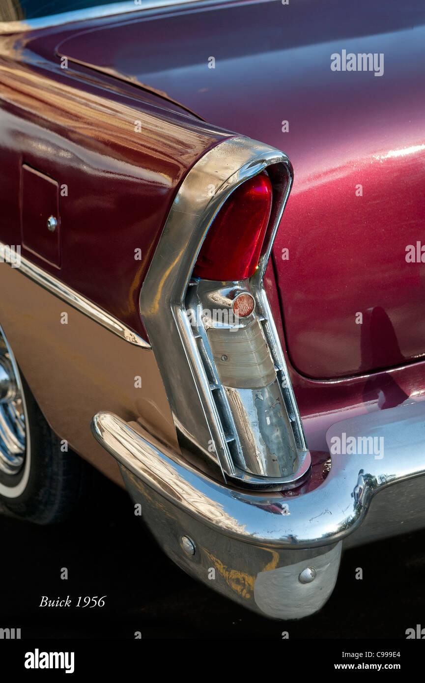 Classical American Buick 1956 Havana Cuba Stock Photo