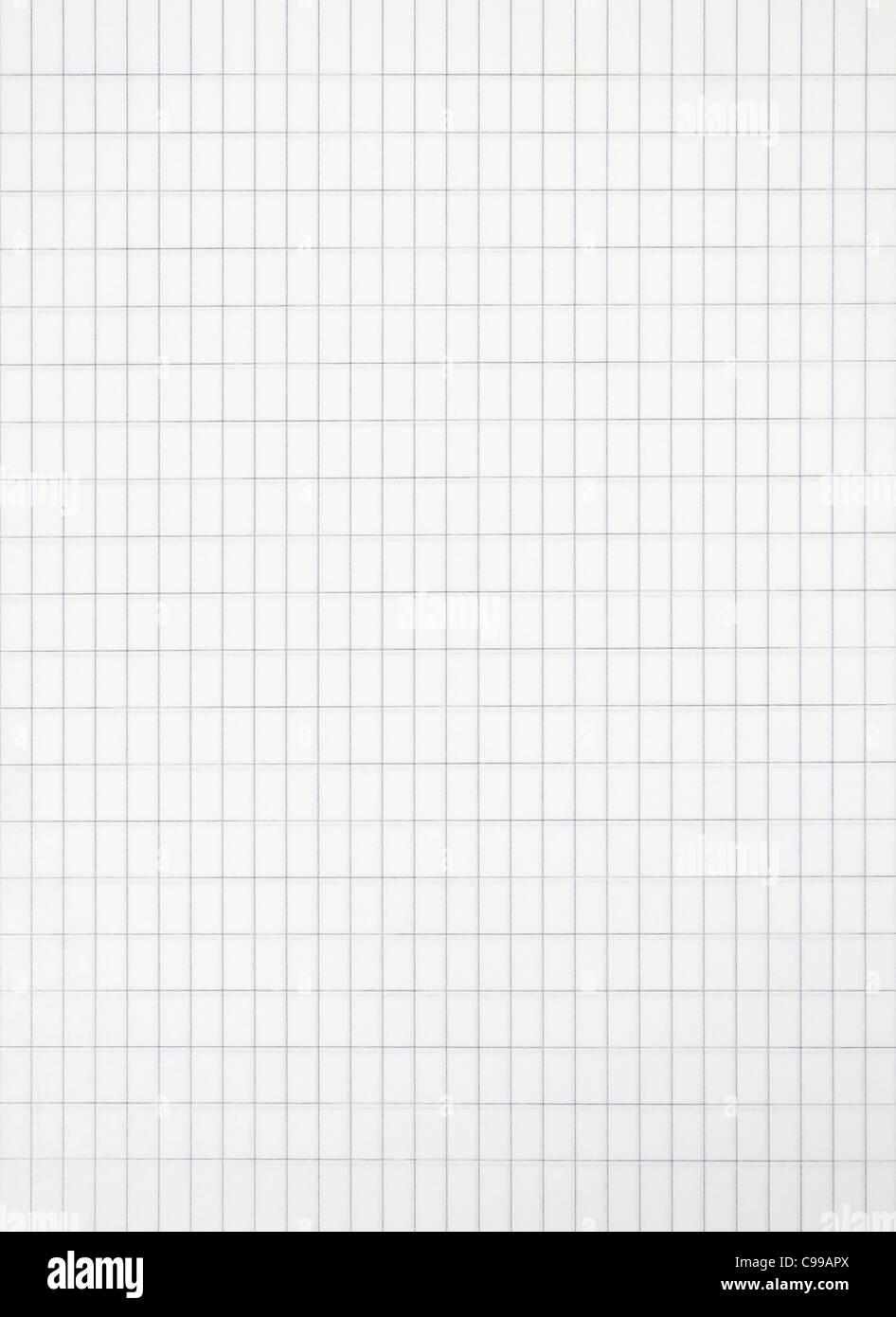 Rectangular Striped Paper - Stock Image