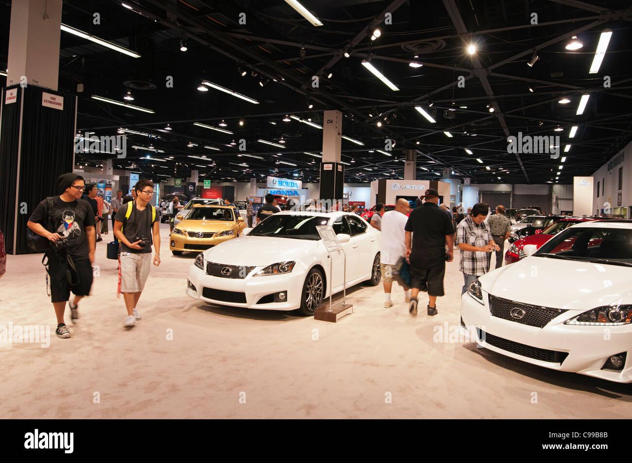 Orange County Auto Show >> The Orange County International Auto Show Stock Photo 40159067 Alamy