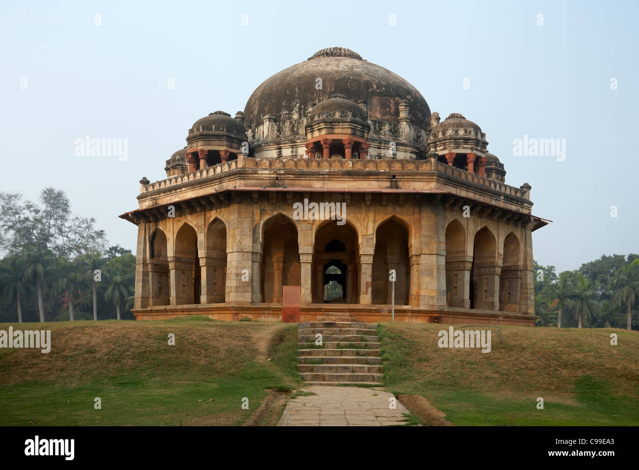 Muhammad Shah Lodi's Tomb, Lodi Gardens, New Delhi, India - Stock Image