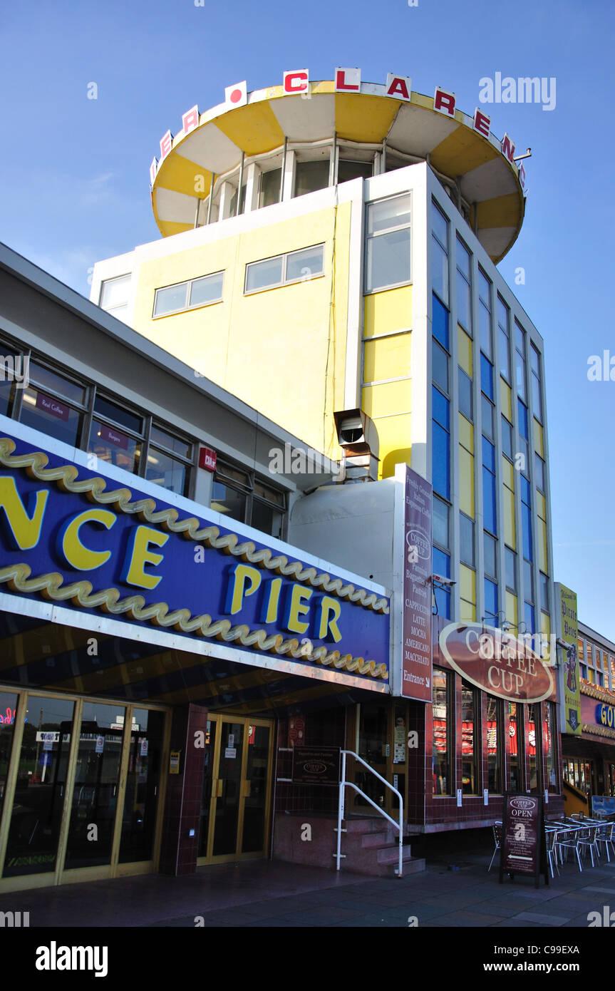 Clarence Pier, Southsea, Portsmouth, Hampshire, England, United Kingdom - Stock Image