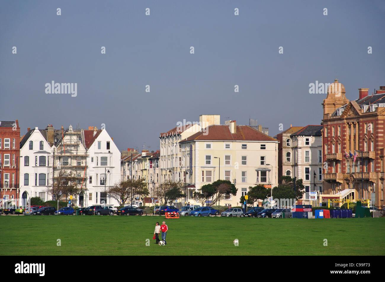 Southsea Common, Southsea, Portsmouth, Hampshire, England, United Kingdom - Stock Image