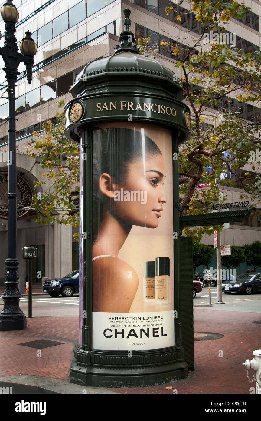 Chanel San Fransisco Perfume France French California United States - Stock Image