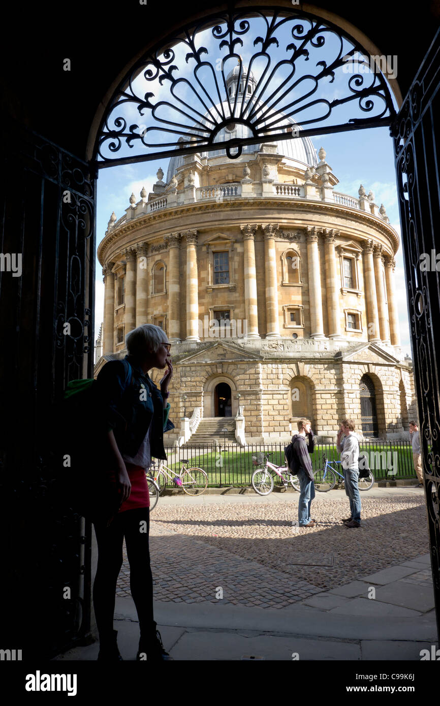 Radcliffe Camera, Oxford, Oxfordshire, England - Stock Image