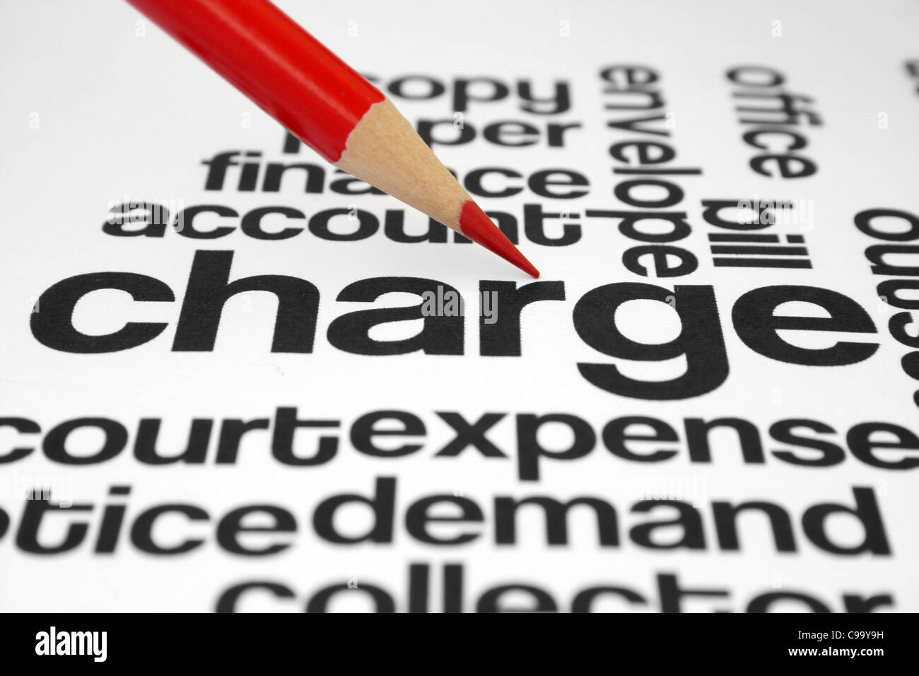 Charge - Stock Image
