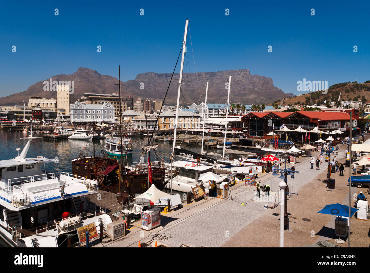 V&A Waterfront, Cape Town, South Africa - Stock Image