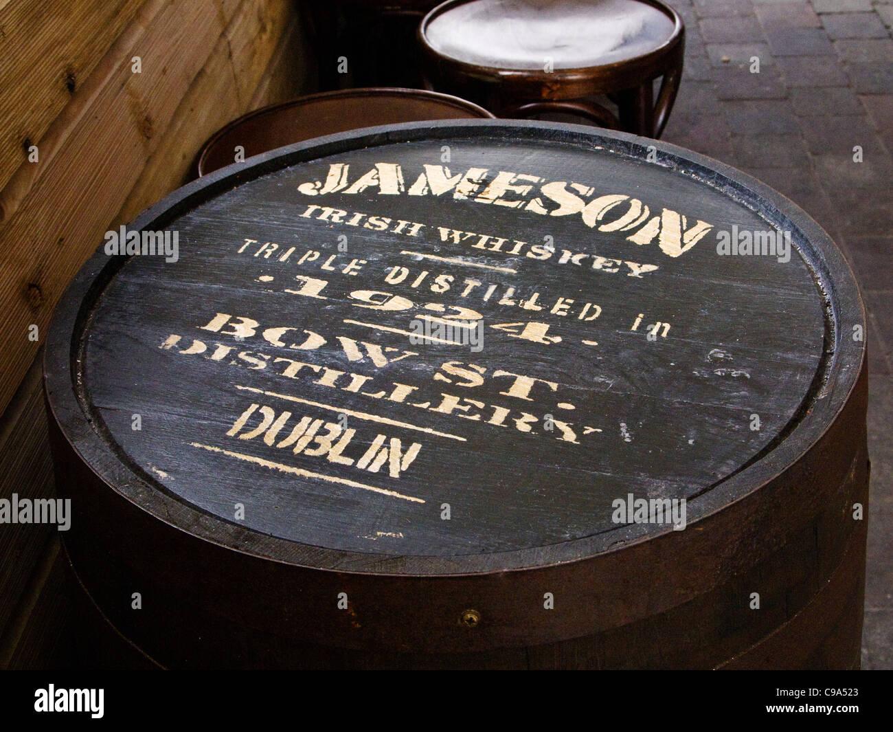 Whiskey Barrel Lid Stock Photos Whiskey Barrel Lid Stock Images