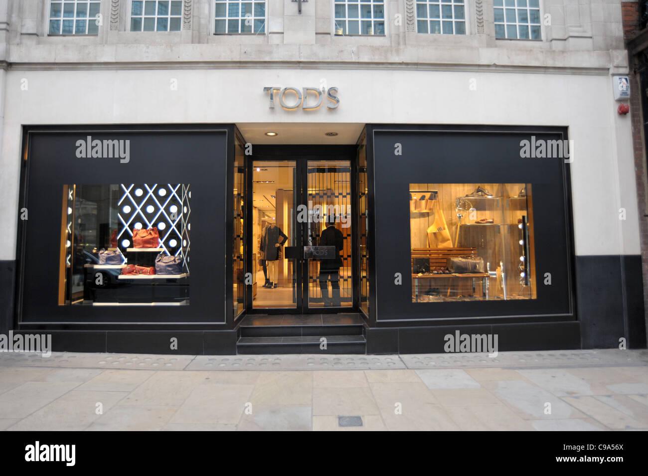 9689044b09 Exterior shot of Tods store on Bond Street London England 2011 - Image  Copyright Ben Pruchnie