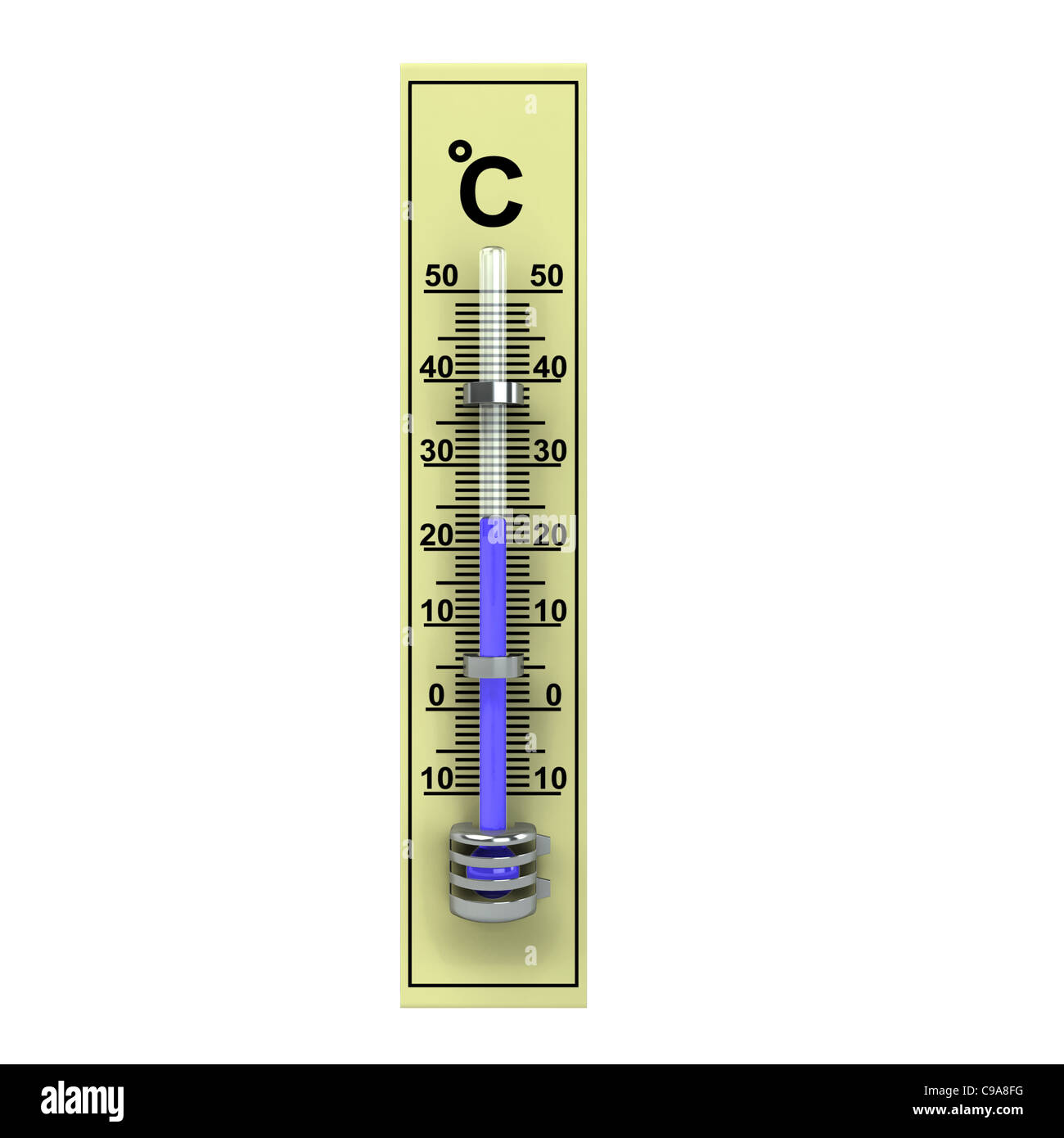 Termometer Stock Photos Images Alamy 3d Yellow Wooden Isolated On White Image