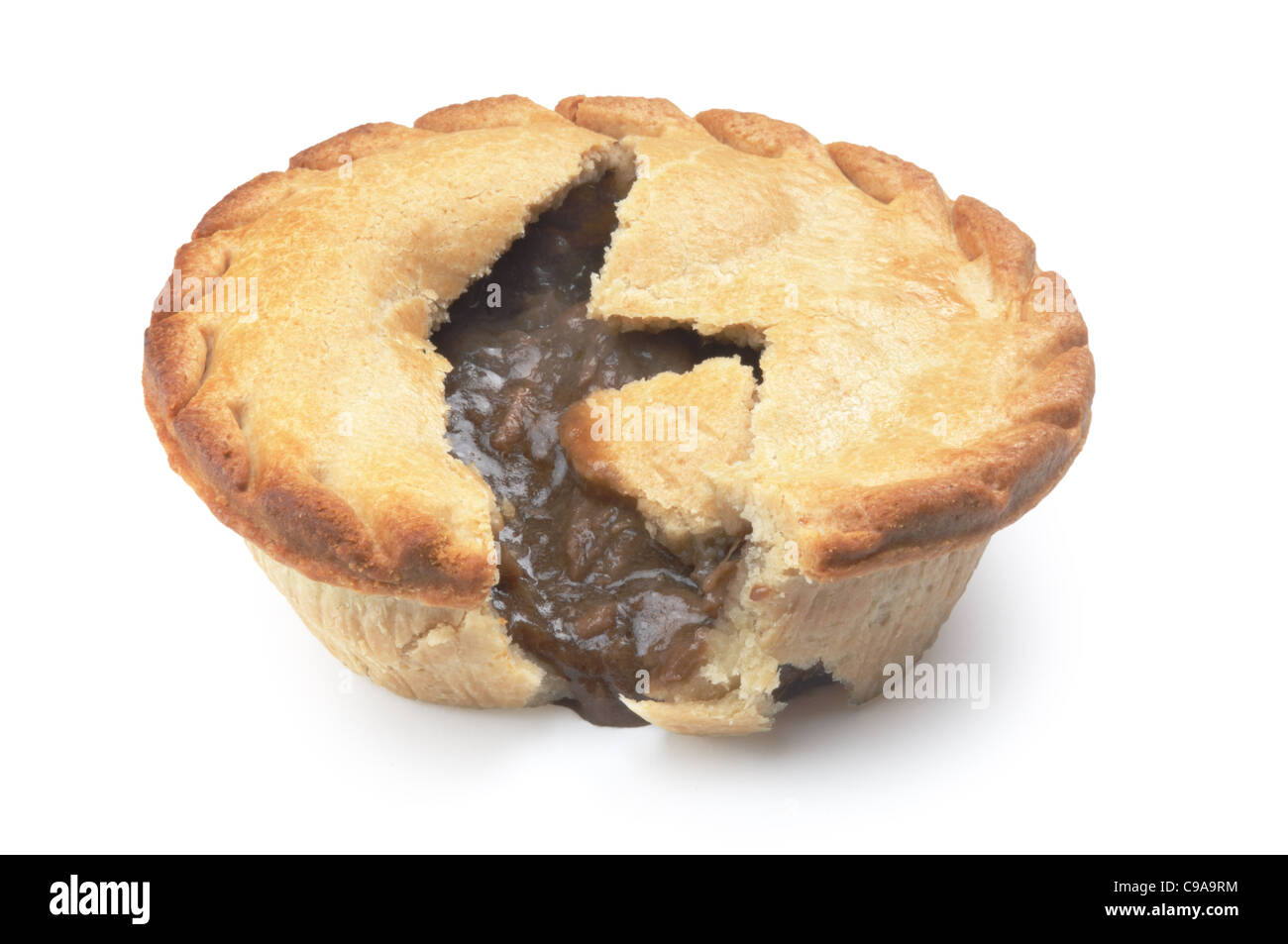 Pie - John Gollop - Stock Image