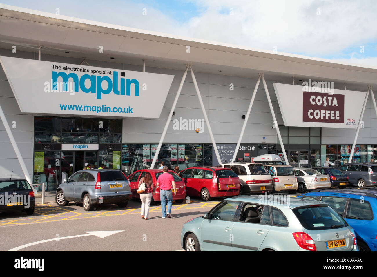 Centaurus Retail Park, Bristol Stock Photo