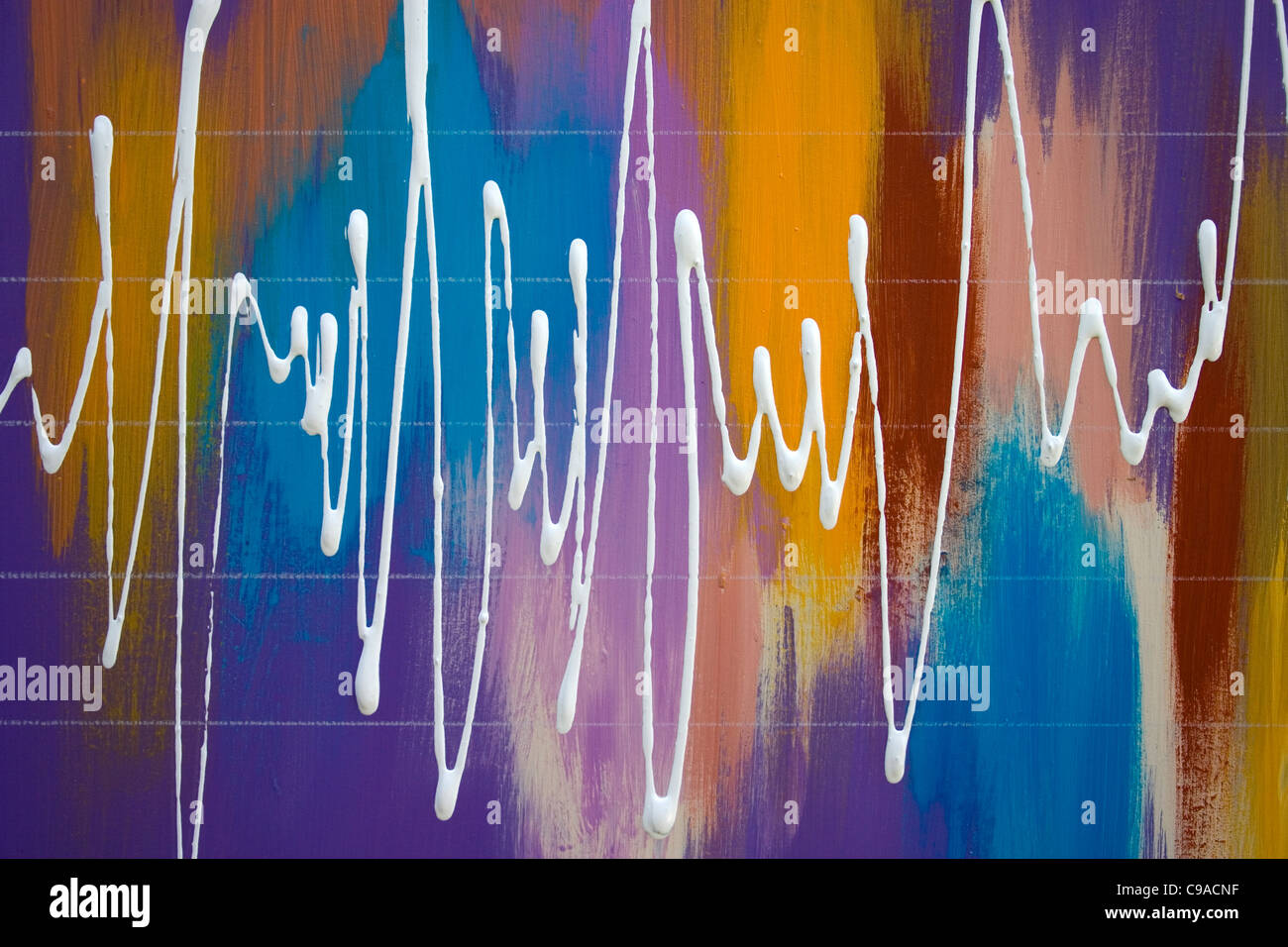 Signal Mark #3A - Stock Image