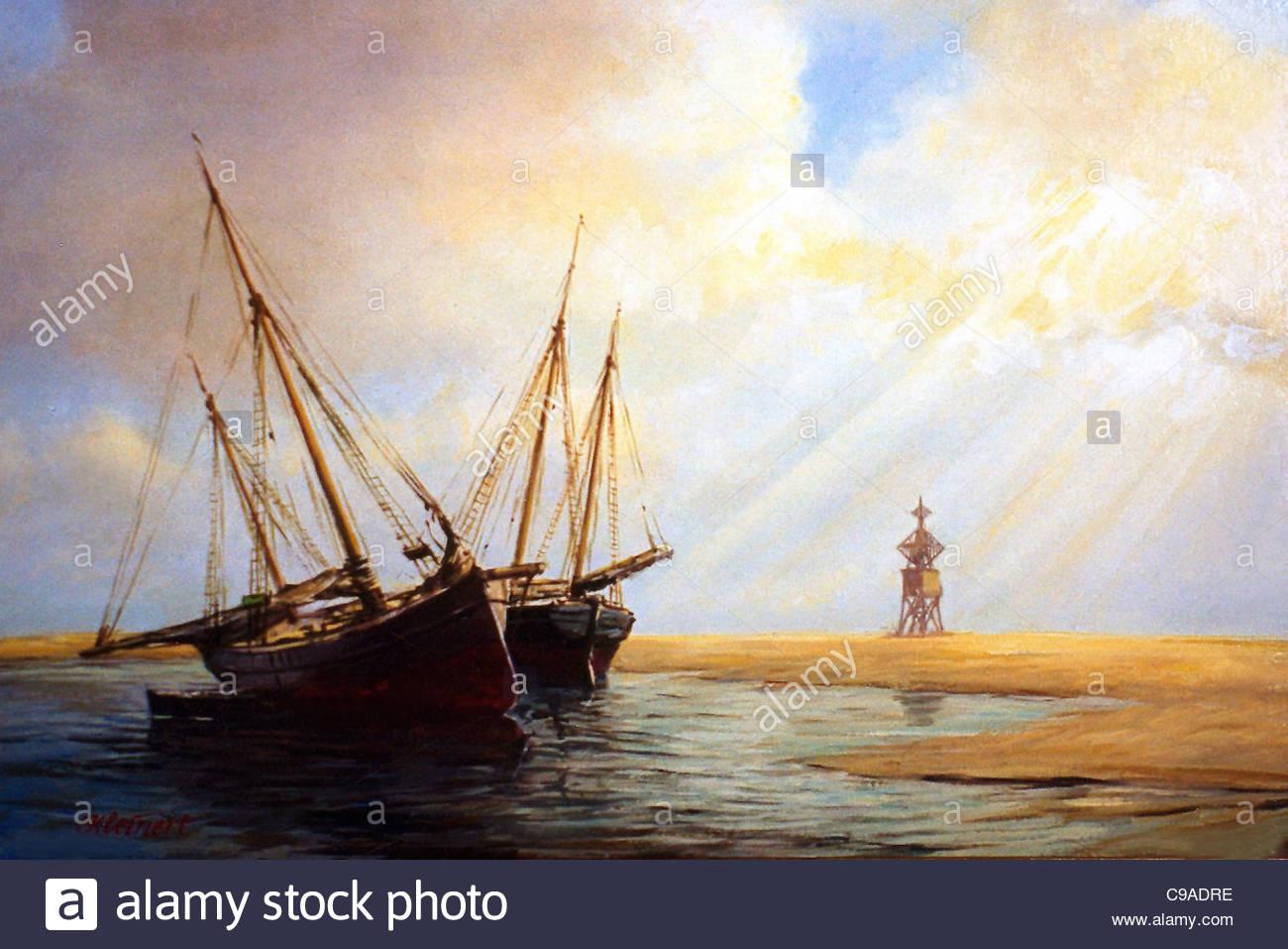 Island Scharhrn - Stock Image