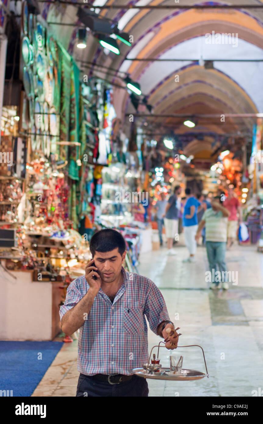 Grand Bazaar Istanbul, Turkey. 2011 Stock Photo