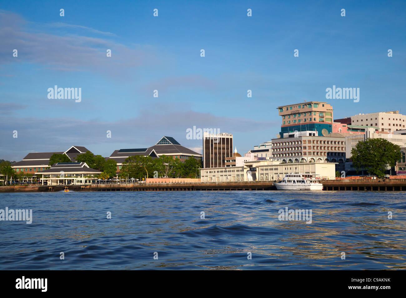 Waterfront, Bandar Seri Begawan, Brunei Darussalam, Asia - Stock Image
