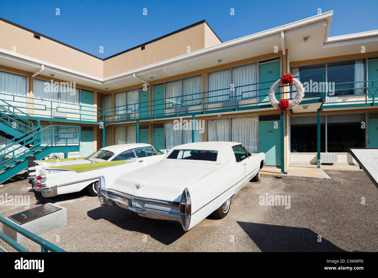 Lorraine Motel, Memphis Stock Photo