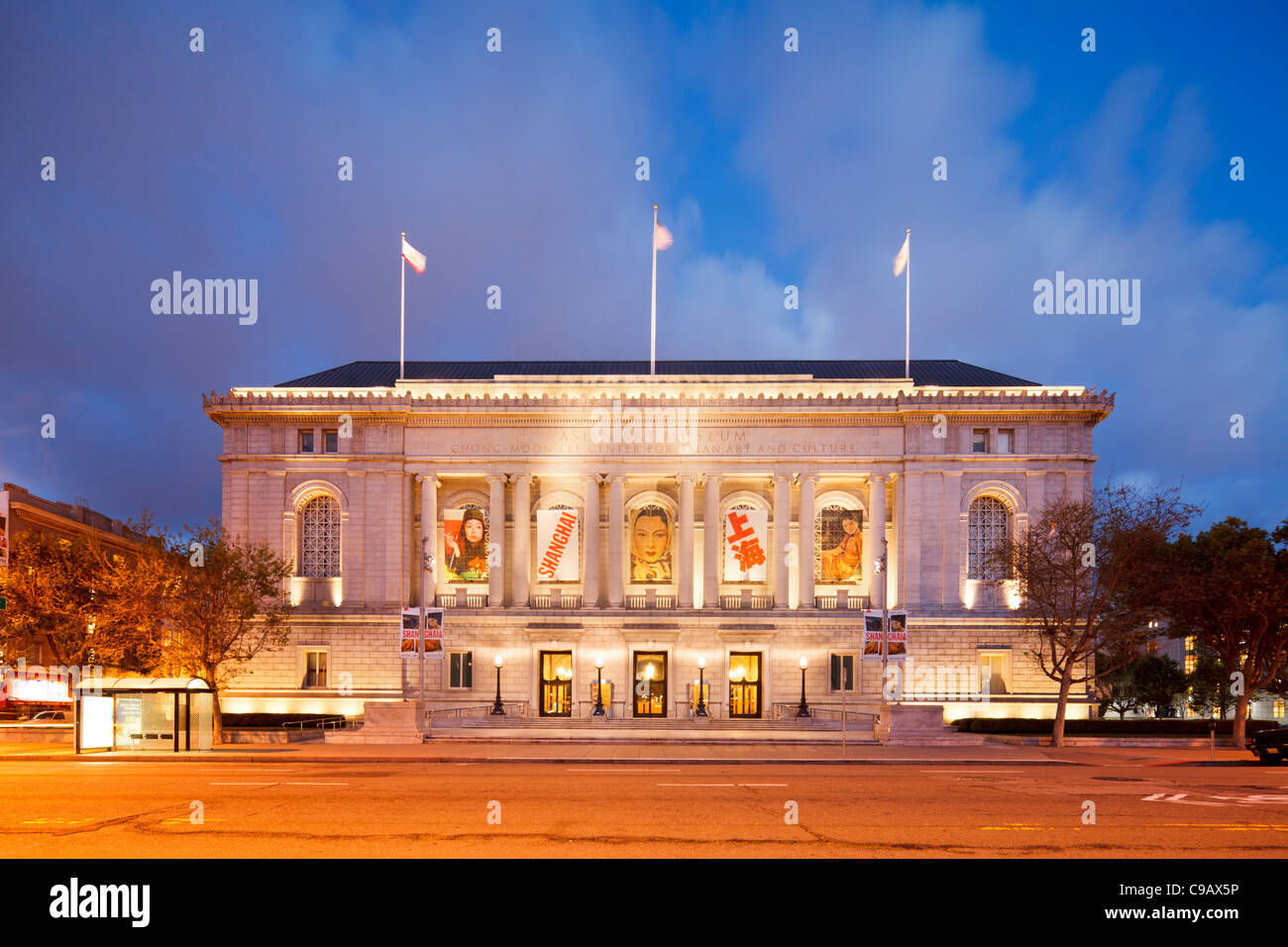 Asian Art Museum San Francisco - Stock Image