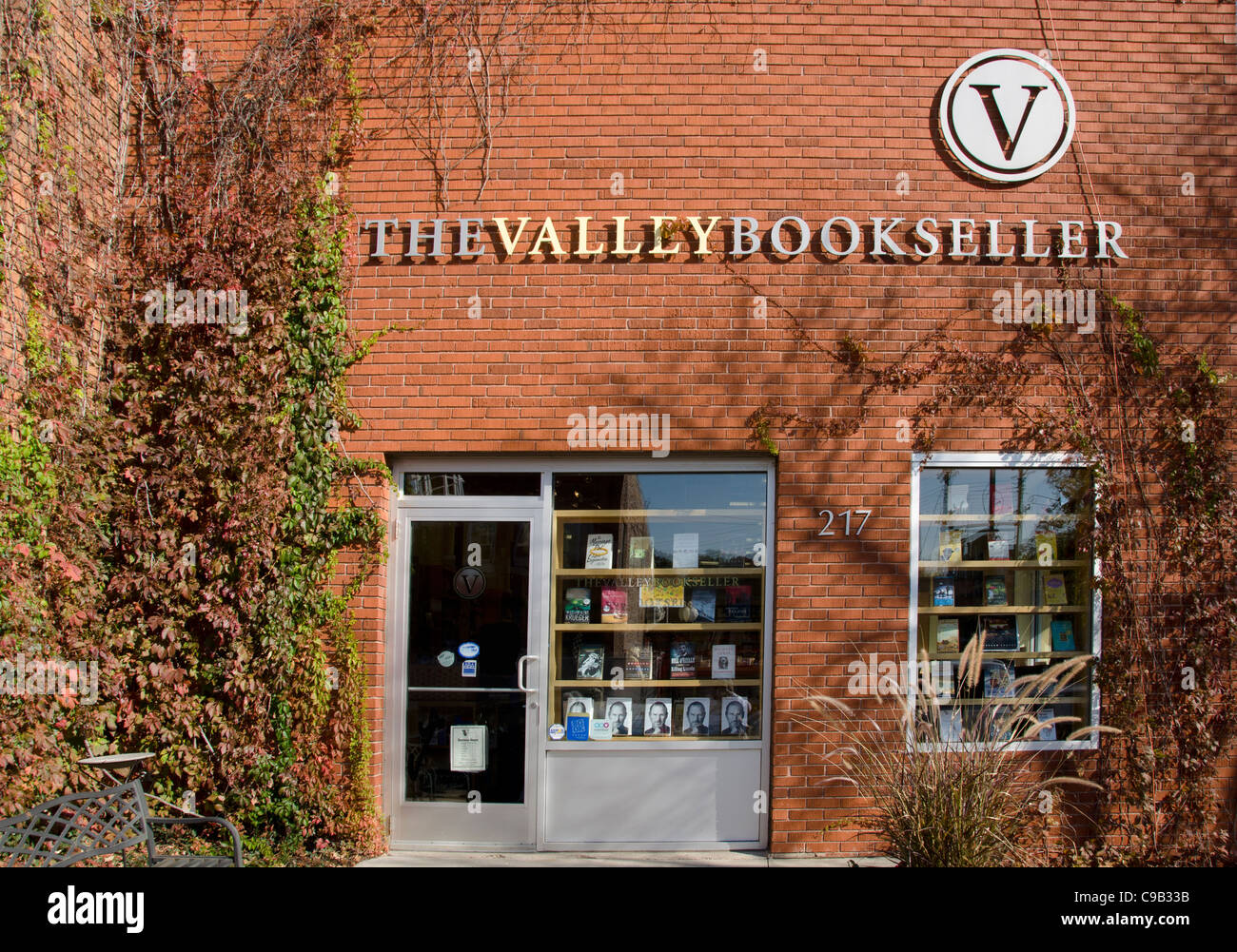 The Valley Bookseller in Stillwater, Minnesota, a town known for its bookstores, art galleries and antique stores. - Stock Image