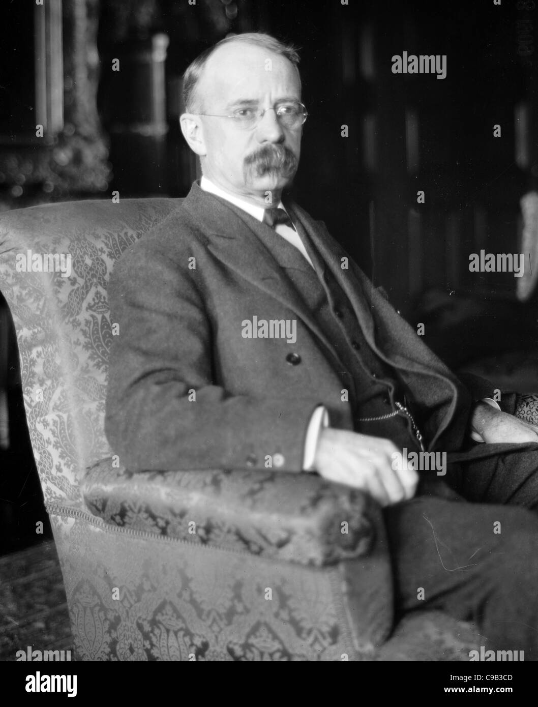 Edward Henry Harriman, American railroad executive. - Stock Image