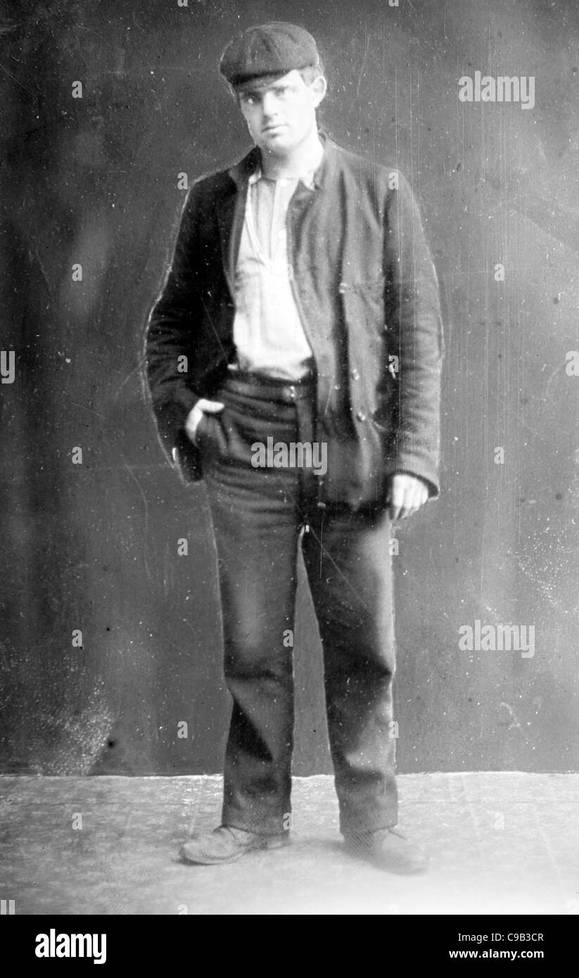 Jack London, John Griffith 'Jack' London, John Griffith Chaney, was an American author, journalist and social - Stock Image