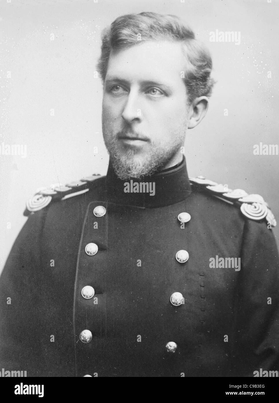 Prince Albert of Belgium - Stock Image