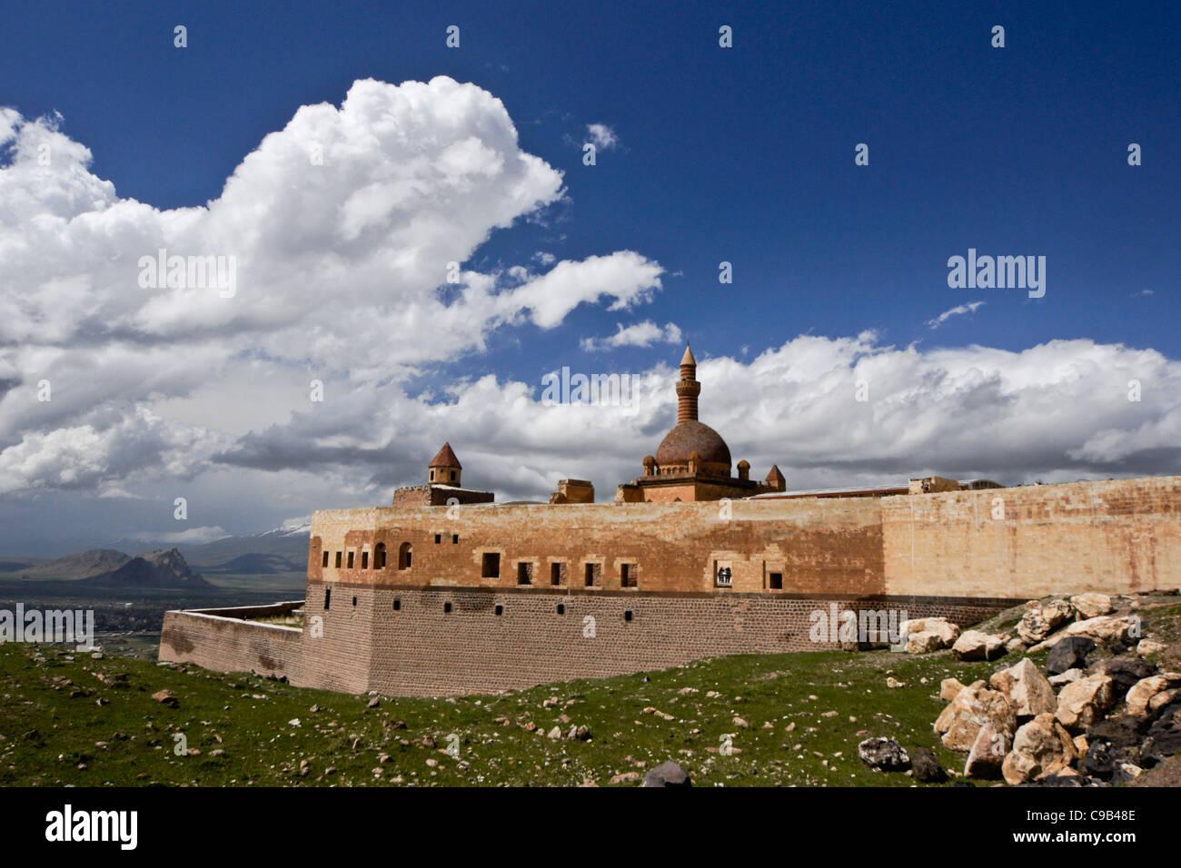 Ishakpasha Palace, Dogubeyazit, Eastern Anatolia, Turkey Stock Photo