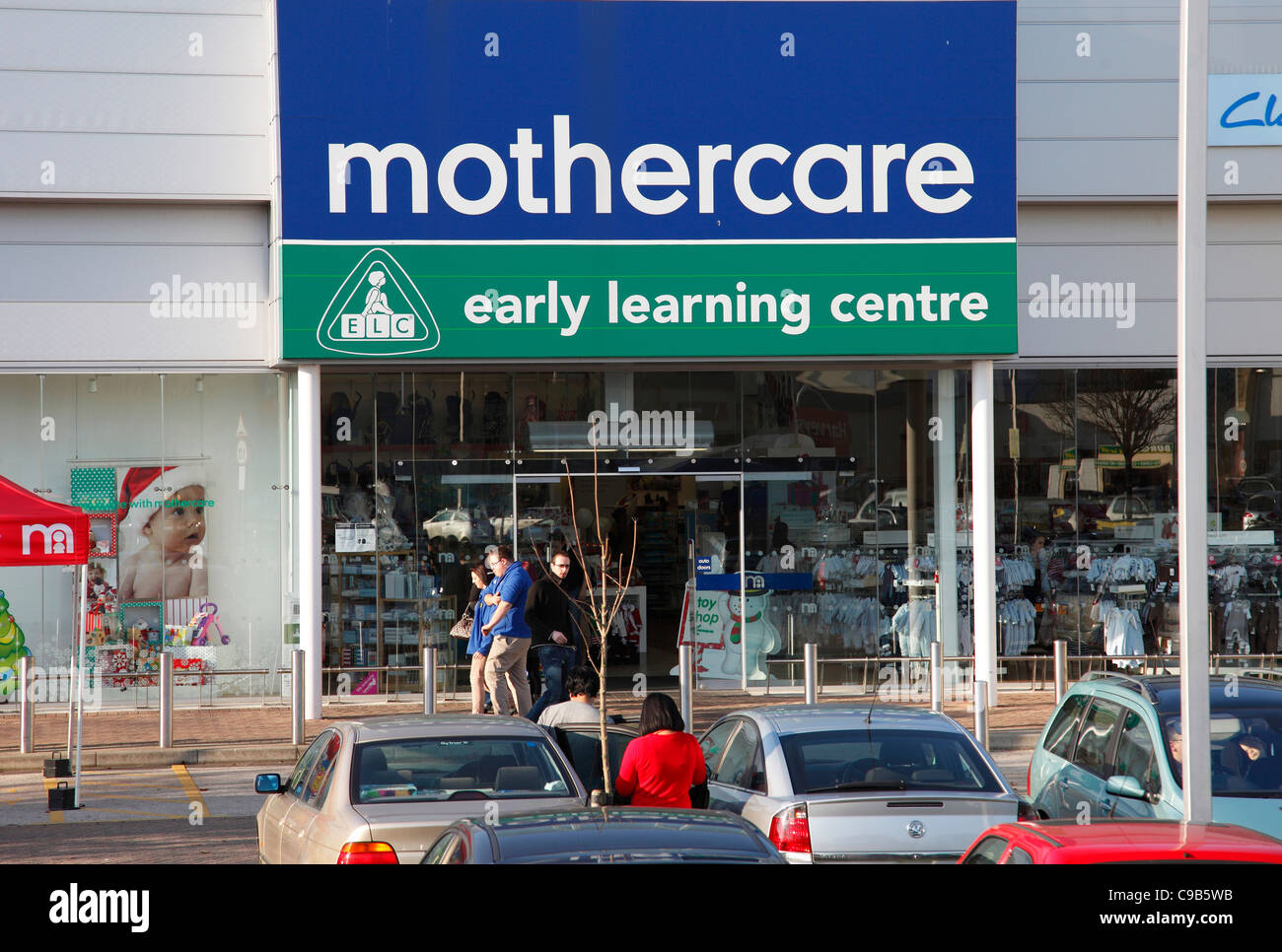 A Mothercare store & Early Learning Centre in Nottingham, England, U.K. - Stock Image