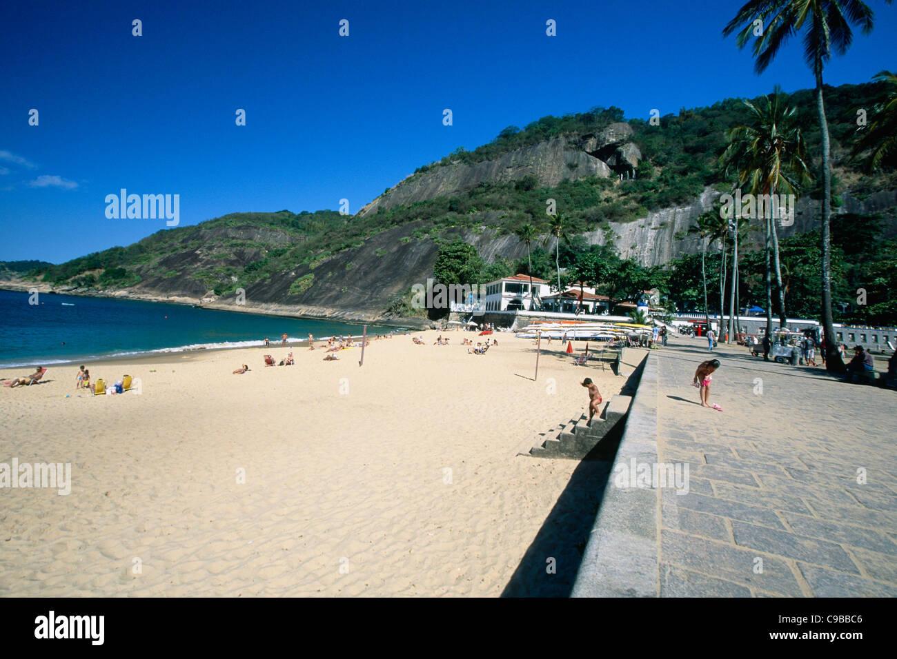 Vermelha Beach, Rio de Janeiro, Brazil - Stock Image