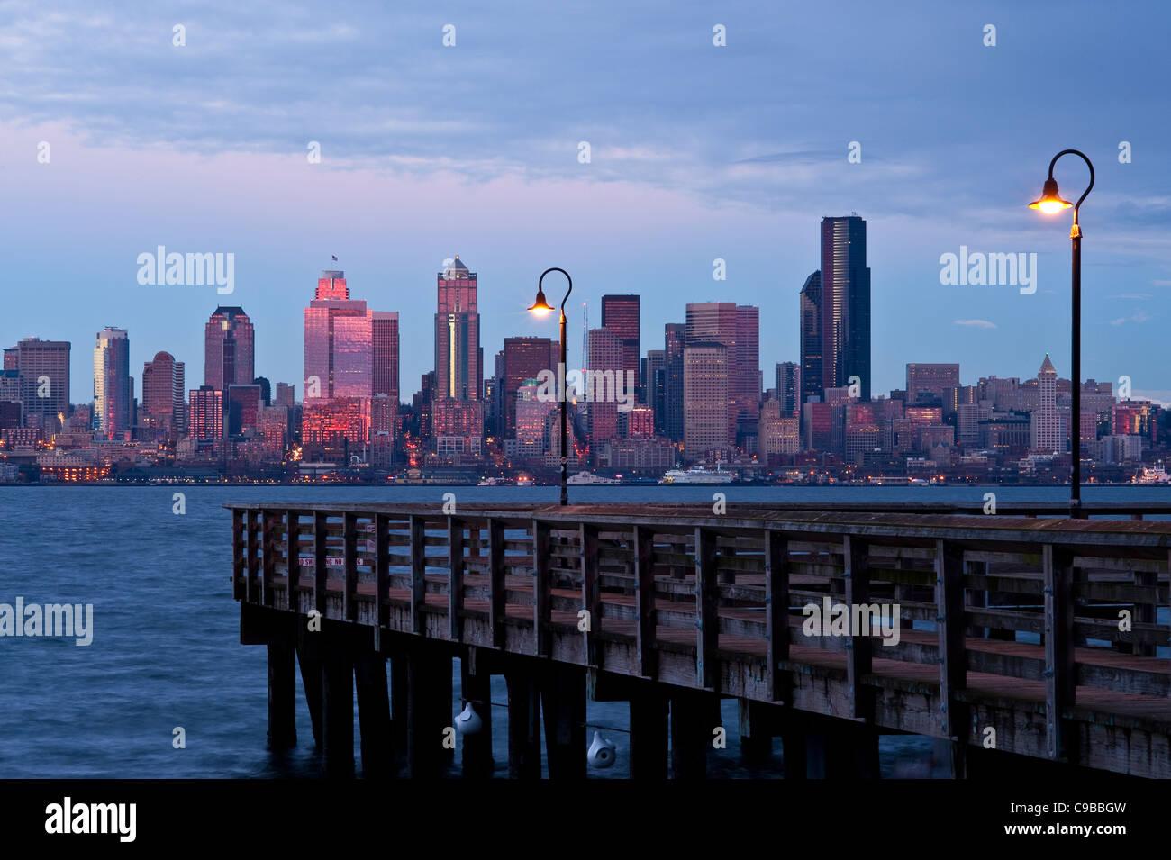 Urban fishing stock photos urban fishing stock images for Seattle fishing pier