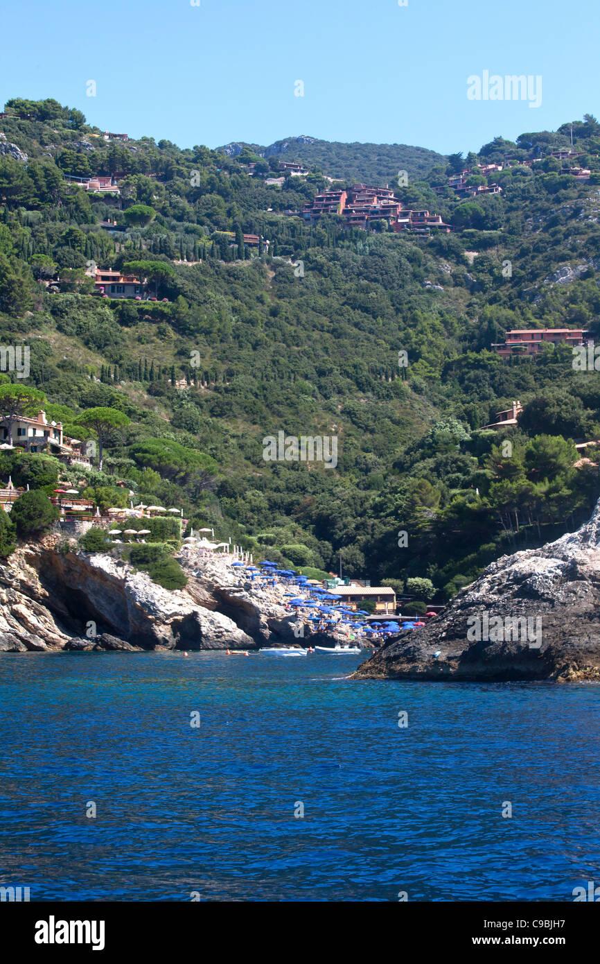 Argentario coast, Tuscany, Italy. - Stock Image