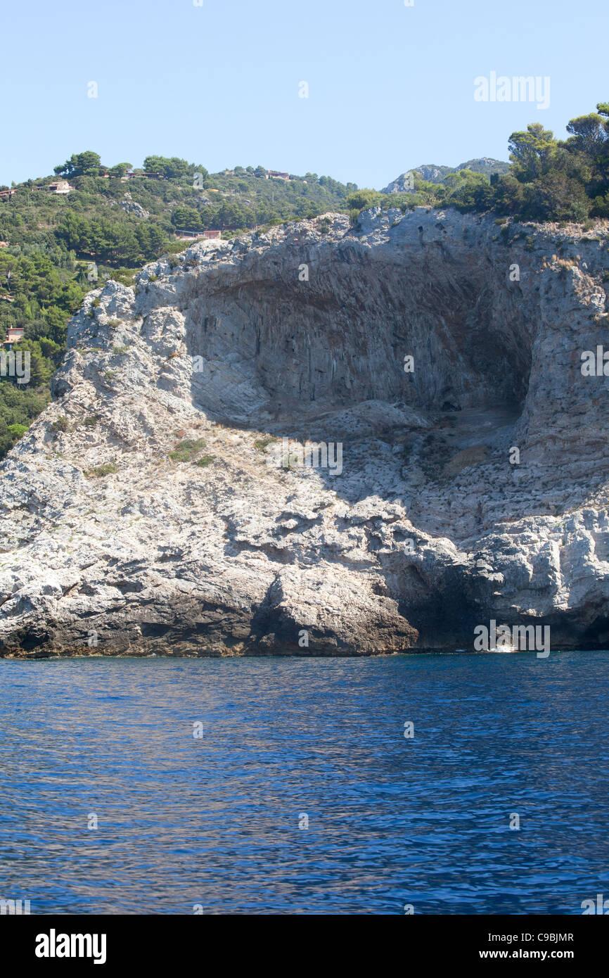 Coast of Argentario, Tuscany, Italy. - Stock Image