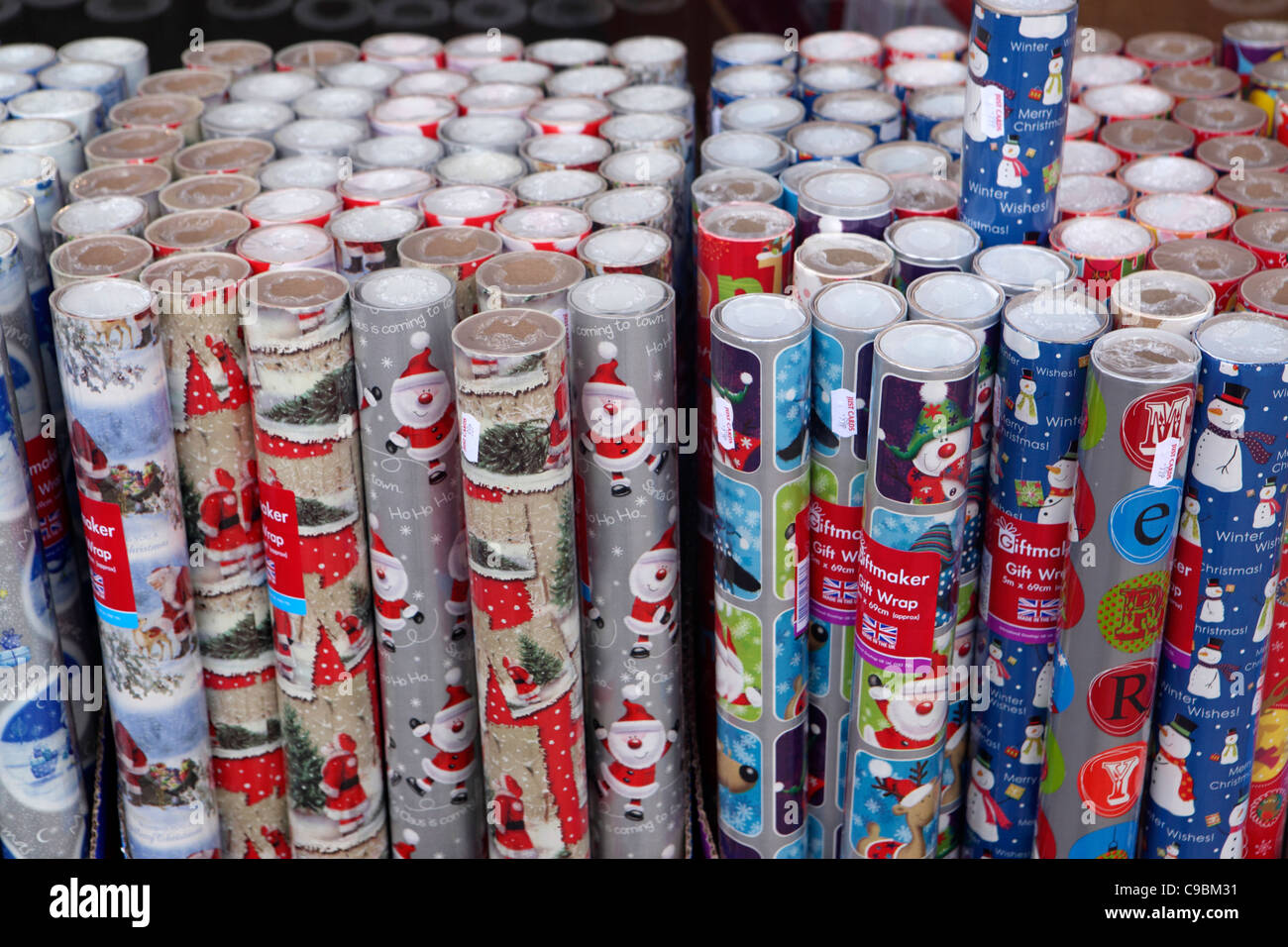 Wrapping Paper Rolls Stock Photos & Wrapping Paper Rolls ...